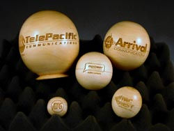 Laser Engraved Spheres